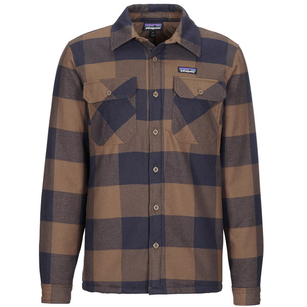 Patagonia M' S INSULATED ORGANIC COTTON MW FJORD FLANNEL SHIRT Männer - Outdoor Hemd