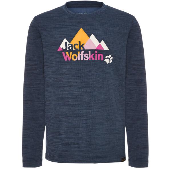 Jack Wolfskin VARGEN LONGSLEEVE KIDS Kinder - Langarmshirt