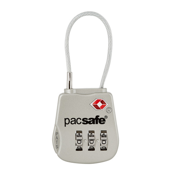 Pacsafe PROSAFE 800 COMBINATION CABLE PADLOCK - Gepäcksicherung