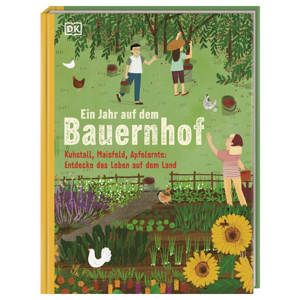 EIN JAHR AUF DEM BAUERNHOF - Kinderbuch