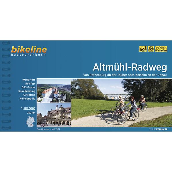 ALTMÜHL-RADWEG - Radwanderführer