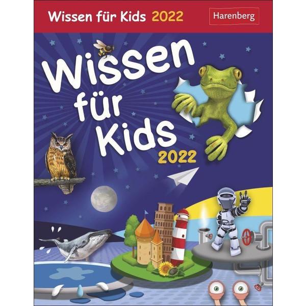 WISSEN FÜR KIDS - KALENDER 2022