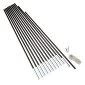 Outdoor International Fibreglass Pole Kit 11  - Zeltstange