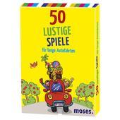 Moses Verlag 50 LUSTIGE SPIELE FÜR LANGE AUTOFAHRTEN Kinder -