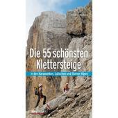 DIE 55 SCHÖNSTEN KLETTERSTEIGE  - Kletterführer
