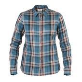 Fjällräven Övik Flannel Shirt LS W Frauen - Outdoor Bluse
