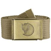 Canvas Brass Belt 4cm