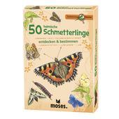 Moses Verlag EXPEDITION NATUR 50 HEIMISCHE SCHMETTERLINGE Kinder - Reisespiele