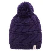 W triple cable beanie