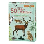 Moses Verlag EXPEDITION NATUR 50 HEIMISCHE WALD- &  WILDTIERE Kinder -