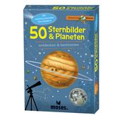 Moses Verlag EXPEDITION NATUR 50 STERNBILDER &  PLANETEN Kinder - Reisespiele