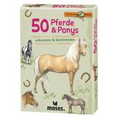 Moses Verlag EXPEDITION NATUR 50 PFERDE &  PONYS Kinder -