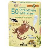 Moses Verlag EXPEDITION NATUR 50 HEIMISCHE STRANDTIERE &  PFLANZEN Kinder -