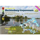 TOURENATLAS TA6 WASSERWANDERN 06 MECKLENBURG-VORPOMMERN  - Gewässerführer