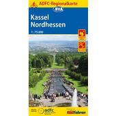 ADFC-Regionalkarte Kassel Nordhessen