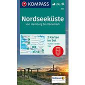 KOKA 723 Nordseeküste Hamburg - Dänemark  -