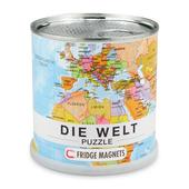 Welt Magnet Puzzle (deutsch)