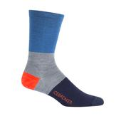 Icebreaker MENS LIFESTYLE ULTRA LIGHT CREW RUGBY STRIPE Männer - Freizeitsocken