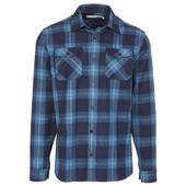 Icebreaker MENS LODGE LS FLANNEL SHIRT Männer - Outdoor Hemd