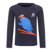 Odlo Top Crew Neck l/s Active Originals Warm Kinder - Funktionsunterwäsche