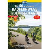 50 schönsten Radfernwege in Deutschland  -