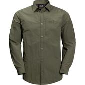 Jack Wolfskin LAKESIDE ROLL-UP SHIRT M Männer - Outdoor Hemd
