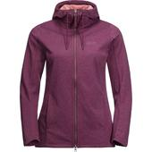 Jack Wolfskin RIVERLAND HOODED JACKET Frauen - Sweatjacke
