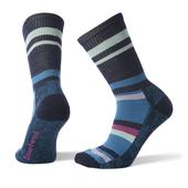 Smartwool Hike Striped Light Crew Frauen - Wandersocken