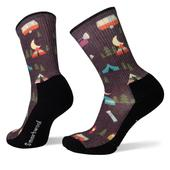 Smartwool Hike Light Summer Nights Print Crew Frauen - Wandersocken