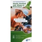 Knotenpunktkarte 04 Utrecht, Flevoland zuid, Veluwe en Rivierenland 1:100 000  - Fahrradkarte
