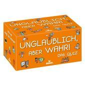 Moses Verlag UNGLAUBLICH, ABER WAHR! DAS QUIZ Kinder - Reisespiele
