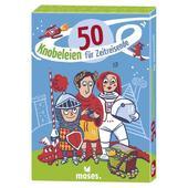 Moses Verlag 50 KNOBELEIEN FÜR ZEITREISENDE Kinder - Reisespiele
