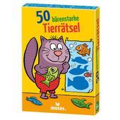 50 BÄRENSTARKE TIERRÄTSEL  - Reisespiele