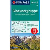 KOKA 39 GLOCKNERGRUPPE, NP HOHE TAUERN  - Wanderkarte