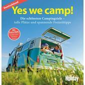 HOLIDAY REISEBUCH: YES WE CAMP! DEUTSCHLAND  - Reiseführer