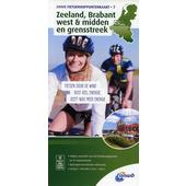 Knotenpunktkarte 07 Zeeland, Brabant West & Midden 1:100 000  - Fahrradkarte