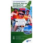 Knotenpunktkarte 02 Friesland, Kop van 1:100 000  - Fahrradkarte