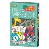 Moses Verlag KARTEN- UND WÜRFELSPIELE FÜR KINDER Kinder - Reisespiele