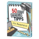 Moses Verlag 50 STRENG GEHEIME TIPPS FÜR DETEKTIVE Kinder - Reisespiele