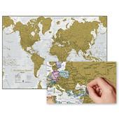 DIE WELT ZUM RUBBELN - SCRATCH MAP  - Weltkarte