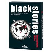 Moses Verlag BLACK STORIES - STRANGE WORLD EDITION Kinder - Reisespiele