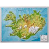 Relief Island klein 1:500.000 - -