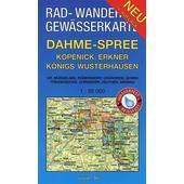 Dahme - Spree - Köpenick, Erkner, Königs Wusterhausen 1 : 35 000  - Fahrradkarte