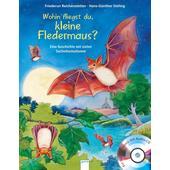 Wohin fliegst du, kleine Fledermaus?  - Kinderbuch