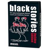 Moses Verlag black stories Holiday Edition Kinder - Reisespiele
