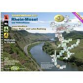 TOURENATLAS TA3 WASSERWANDERN 03 RHEIN-MOSEL  - Wasserkarte