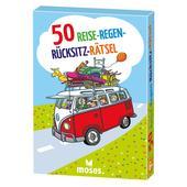 Moses Verlag 50 REISE-REGEN-RÜCKSITZ-RÄTSEL Kinder - Reisespiele
