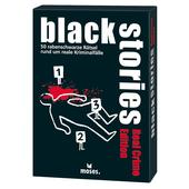 Moses Verlag BLACK STORIES - REAL CRIME EDITION Kinder - Reisespiele