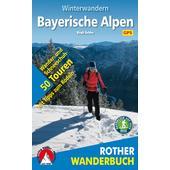 Winterwandern Bayerische Alpen  - Wanderkarte