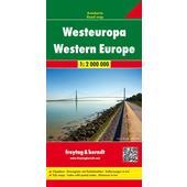 Westeuropa 1 : 2 000 000. Autokarte  -